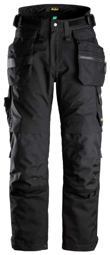 Snickers 6580 FlexiWork GORE-TEX 37.5® Waterproof Insulated Work Trousers+ Holster Pockets